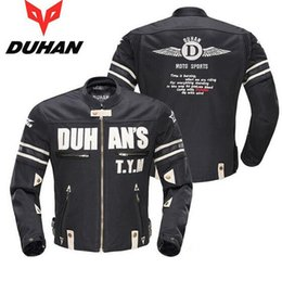 Wholesale Motorcycles Jackets Duhan - Duhan breathable Summer mesh motorcycle jacket biker motorcycle harley chopper jacket Men's lightweight Racing Clothing