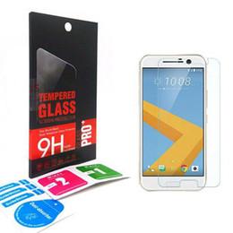 Wholesale M7 Screen Protectors - 0.33mm 9H 2.5D Premium Tempered Glass Treated Glass Screen Protector film guard For HTC DESIRE 828 530 630 M10 M9 plus M8 M7 mini HTC 628