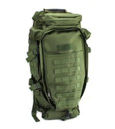 Wholesale Tactical Climbing Pack - Military USMC Army Tactical Molle Hiking Hunting Camping Back pack Rifle Backpack Bag Climbing Bags outdoor sports Travel bag