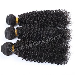 Wholesale Tight Afro Kinky - Hot Selling Mongolian afro tight kinky curly hair weave 8A Cheap Factory Afro Curly Hair Free Shipping 3 Bundles