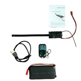 Wholesale Wireless Remote Control Spy Camera - Full HD DIY Module Board Spy DVR 1080P Wireless Spy Hidden Camera with Remote Control and Big Battery in Package S01