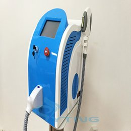 Wholesale Hair Removal Spa Machine - Portable e light Hair removal machine SHR IPL laser hair removal beauty machine spa equipment skin rejuvenation