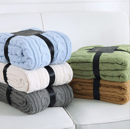 Wholesale Double Layer Cable - CABLE KNIT SOFT SHEPA HOME BLANKET KIDS CHILDREN BABY SHAWLS DOUBLE LAYERS THICK DESIGN SIZE 130X170CM (MMS-01)