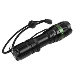 Wholesale Super Bright Cree Led Torch - LED Flashlight 10000lm Cree Zoomable XM-L T6 Led Torch,Super Bright Light,Aluminum alloy for hiking,biking,camping,night reading