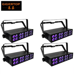 Wholesale high powered watt led - 4pcs lot 50 Watt Ultraviolet LED light Bar with 16 x 3 Watt High Power LEDs In Double Row Array Aluminum Case Stage UV Washer