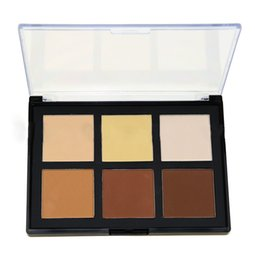 Wholesale Beautiful Bulbs - 6 Color Foundation Concealer Contour Makeup Meticulous Smooth And Beautiful Cosmetic Set