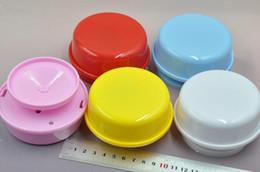 Kil çamur kil inci aksesuarları ve diğer el yapımı diy müzik kutusu müzik kutusu dönen tabanı 6 renkler nereden plastik boşluklar tedarikçiler