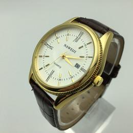 Wholesale Aesop Watches - Fashion AESOP Moon Phase watch men leather strap quartz Sapphire glass waterproof date watch relogio masculino