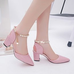 Wholesale Chunky Sandals Girls - sandals for girls high heel,fashion flat summer sandals 2017 for women,ladies sandals photo ,sandals shoes women 2017