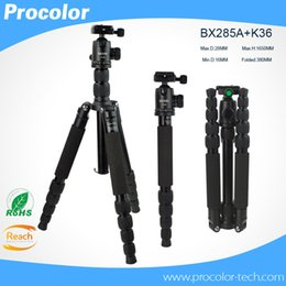 Wholesale Dsrl Camera - camera Stand Monopod Tripod Profesional Ball Head Foldable Detachable Monopod For Canon Nikon Sony DSRL Camera Tripe Universal BX285A+K36