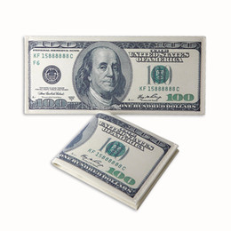 Wholesale Various Cartoon - Various Countries Printed Creative Money Wallet Fashion Dollar Purse Wallet Card Holders Children Kids Gift Presents 30pcs lots
