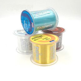 Wholesale Levels Wholesale - Free Shipping Cheap Sale Japan Fishing Line Multi Colors 500m Monofilament Strong Quality Nylon Fishing Lines