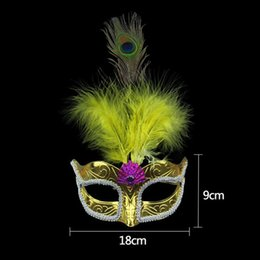 Wholesale Carnival Masks For Sale - 2017 On Sale Party masks Venetian masquerade Mask Halloween Mask Sexy Carnival Dance Mask cosplay fancy wedding gift mix color free shipping