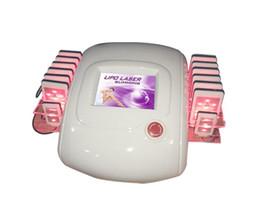Wholesale Lipo Massage - 14 zerona laser pads ! liposuction laser massage lipo slim laser machine