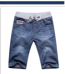 2019 jeans dei bambini di modo Ragazzi jeans pantaloncini bambini vestiti pantaloni estivi ragazzi ragazzi jeans pantaloni 2017 new fashion kid219 dhl jeans dei bambini di modo economici