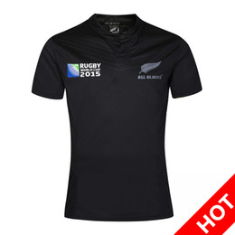 Wholesale Ruby Flash - New Zealand Ruby Jersey New All Blacks RWC Jersey 2015 New Zealand Rugby World Cup 2015 thailand quality Rugby Jerseys size:S-3XL