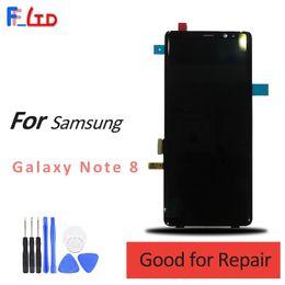 LCD original para Samsung Note 8 Pantalla LCD Digitalizador 6.3 Pulgadas Nota Galaxy 8 Reemplazo de pantalla Precio al por mayor desde fabricantes