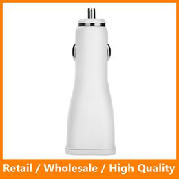 Wholesale Fast Car Styling - Fast USB Car Charger 5.0V 2.0A 1 Port Car Charger Adatper Socket Cay Styling USB Charger for Samsung S7 S8 iPhone