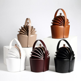 Wholesale Kraft Bag Leather - 2017 New Leather Ladies Handbag Kraft Dishes Baskets Pineapple Bag Organ Pants Handbags