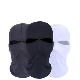 Wholesale Wholesale Cycling Equipment - Camouflage soft head mask hat one piece cycling face masks outdoor equipment free ship