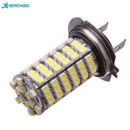 Wholesale Car Dome - DC12V Car H7 120 LED 3528 SMD Pure White Auto Light Source Fog Driving light Lamp Bulb Car styling