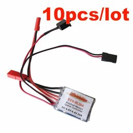 Wholesale Esc Brush Rc - 10x RC ESC 20A Brushed Motor Speed Controller BEC 5V 1A without Brake