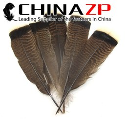 Wholesale Turkey Wedding Decoration - Leading Supplier CHINAZP 25~30cm(10~12inch) 50Pcs lot Beautiful & Unique Natural Turkey Tail Flat Feather for Craft