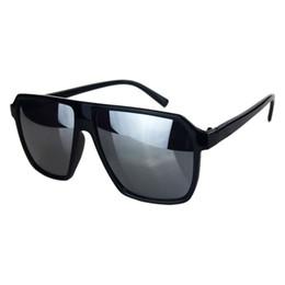 Wholesale Reflect Color - Wholesale-5 Color Retro Mens Women's Big Frame Sunglasses Fashion Glasses Leisure Eyewear Korean Fashion Style Reflect Quadrate Lens