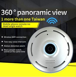 Wholesale wireless wifi ip camera webcam - Newest 360 Graden smart panoramin webcam Mini draadloze camera IP camera 960 P wifi ondersteuning P2P tweeweg audio360 Graden smart panorami
