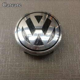 Wholesale vw airbags - 1piece Car Styling Airbag Cover Badge For VW Volkswagen Steering Wheel Emblem AirBag Cover Logo Free Shipping