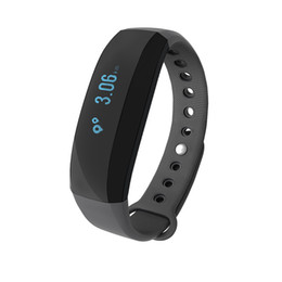 Wholesale Tracker Long - Cubot V2 IP65 Bluetooth Wristband Waterproof Alarm clock remind Anti-lost Alarm Sports Record Smart band for iOS Android super long standby