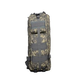 Wholesale quality tactical backpack - 30pcs CCA3495 High Quality 30L Hiking Camping Bag Military Tactical Trekking Rucksack Backpack Camouflage Molle Rucksacks Attack Backpacks