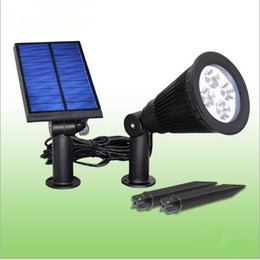 Wholesale Garden Shoots - 4 led solar light Fission shoot the lamp to highlight indoor garden 2 w available lamp wall lamp