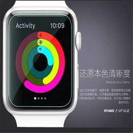 Wholesale Galaxy S2 Screen Protectors - 0.26mm 9H Hardness Premium Tempered Glass Screen Protector Film for Apple Watch Samsung Galaxy Gear 2 S2 Motorola 360 Huawei Watch