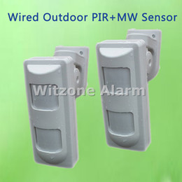 Wholesale Dual Outdoor Detector - High Quality Outdoor Wired Dual PIR+Microwave Motion Detector Anti-mask PIR Sensor for Home Security Alarme Systems