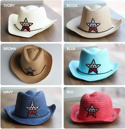 Wholesale Kids Cowboy Hats Party - Straw Cowboy Hats for Kids - Makes Great Birthday Party Hats for Boys and Girls