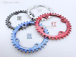 Wholesale Fsa Crankset - Wholesale-Oval circle chainring 104BCD 32T 34 36 38 Chainwheel MTB bicycle crankset plato de la bicicleta ovalado redondo