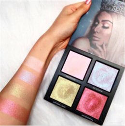 Wholesale Wholesale Waterproof Winter Wear - NEW MAKEUP BEAUTY Winter Solstice NEW MAKEUP BEAUTY Winter Solstice Highlighter Palette Glow Kit 4 colors highlighters DHL shipping