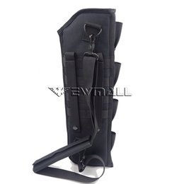 Wholesale tactical molle sling - Tactical Shotgun Rifle Scabbard Bag Molle Shoulder Sling Case Padded Holster