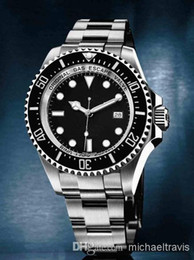 Wholesale Sea Dweller Automatic - New Top Luxury Christmas gift automatic sweep Mechanical men Watches brand dweller sea stainless steel black dial mens watches wristwatch