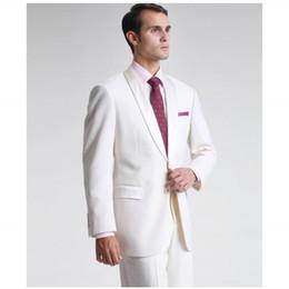 мужской современный костюм Скидка Wholesale- Free Shipping Custom Made Modern Slim Fit Man Suit 2 Piece Suit tie Shawl Lapel Groomsman Tuxedos Two Button Men Suit Hot Sale