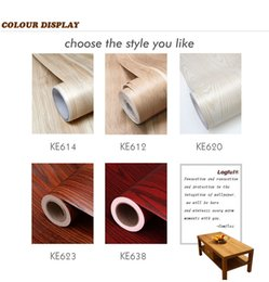 Wholesale Plastic House Japan - Wholesale Best Seller SGS Standard Wooden Grain Vinyl Wallpaper For Home and Furniture Renovation of Decorative Films