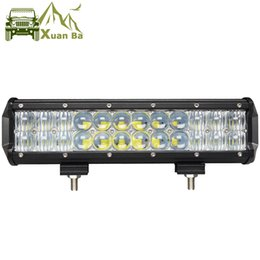 Wholesale Auto 4wd - XuanBa 12 inch 120W 5D LED Work Light Bar for Auto Tractor Boat OffRoad 4WD 4x4 Truck SUV ATV Spot Flood Combo Beam 12V 24v Barra Led Lamp