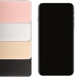 Wholesale Gps Single Sim - Sealed Box 5.5inch Goophone I7plus 1G 4G Quad core MTK6580 Can show Fake 4G 2G 256G smartphone GPS WIFI
