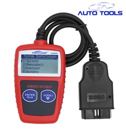 Wholesale New Universal Car Diagnostic - Wholesale- auto car obd2 tool New KW806 scanner universal car diagnostic tool obdii EOBD CAN Engine Analyzer Code Readers Scan Tools