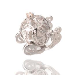 Wholesale Pandora Compatible Beads - Factory Direct Sale Cubic Zirconia Beads Big Hole Beads Compatible Pandora Charm ICPD045 , 14.9*13.7 mm