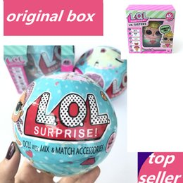 Wholesale Toy Dolls For Girls - LOL Surprise Doll Boneca Funny Dolls Toys for Children Girl Gift Series 1 & Series 2 Novelty Randomly Sent boneca lol doll egg