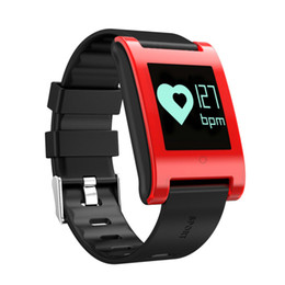 Wholesale Blood Activities - DM68 Smart Band Wristband Bracelet Fitness Activity Tracker Blood Pressure Heart Rate Monitor Calls Messages Watch For Phone