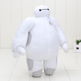 Wholesale Robots Video Games - Sale New Big Hero 6 Baymax Robot Hands Moveable Stuffed Plush Animals Toys 12inch 30cm Christmas Gfit for kids