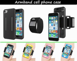 Wholesale Sleeve Inner Wholesale - iPhone 7, iphone 7plus Sports Exercise Armband Protective Sleeve with Inner Card slot Sweatproof Shockproof and Dropproof